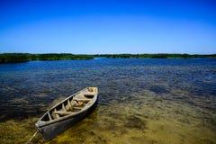 Βάρκα στο νερό Στοκ εικόνες με δικαίωμα ελεύθερης χρήσης