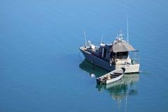 βάρκα στρατιωτική Στοκ εικόνα με δικαίωμα ελεύθερης χρήσης
