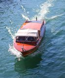Βάρκα ταξί στη Βενετία Στοκ Εικόνα