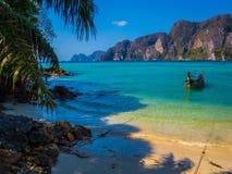 βάρκα Ταϊλανδός Στοκ Φωτογραφία