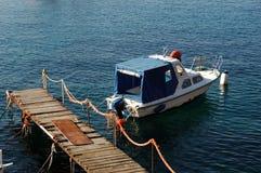 βάρκα τουριστική στοκ φωτογραφία