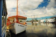 Βάρκα τουριστών στη Φλώριδα Στοκ εικόνα με δικαίωμα ελεύθερης χρήσης