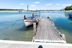 Βάρκα τουριστών στοκ εικόνα