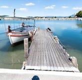 Βάρκα τουριστών Στοκ Εικόνες