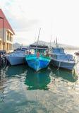 Βάρκα τρία Στοκ εικόνες με δικαίωμα ελεύθερης χρήσης