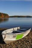 βάρκα τραπεζών ενιαία Στοκ Εικόνες