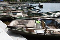 Βάρκα υπόλοιπου κόσμου tam coc Στοκ Φωτογραφίες