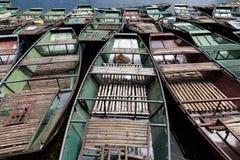 Βάρκα υπόλοιπου κόσμου tam coc Στοκ Φωτογραφία