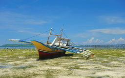 βάρκα φιλιππινέζικη Στοκ εικόνα με δικαίωμα ελεύθερης χρήσης