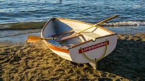 Βάρκα φρουράς ζωής στοκ φωτογραφία με δικαίωμα ελεύθερης χρήσης