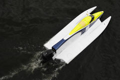 βάρκα Φόρμουλα 1 Στοκ Εικόνες