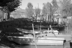 Βάρκα ψαράδων ` s Στοκ Φωτογραφίες