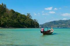βάρκα ωκεάνια Ταϊλάνδη στοκ εικόνες