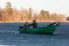 βάρκα δύο Στοκ εικόνες με δικαίωμα ελεύθερης χρήσης