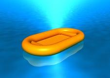 βάρκα διανυσματική απεικόνιση