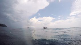 Βάρκα απόθεμα βίντεο
