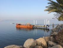 Βάρκα Galilee Στοκ φωτογραφία με δικαίωμα ελεύθερης χρήσης