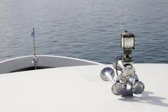 Βάρκα klaxon Στοκ Φωτογραφίες