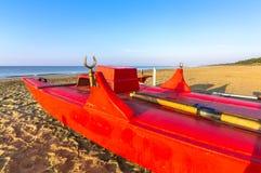 Βάρκα Lifeguard Στοκ φωτογραφίες με δικαίωμα ελεύθερης χρήσης