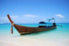 βάρκα longtail Ταϊλανδός Στοκ Εικόνες
