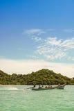 βάρκα longtail Ταϊλανδός Στοκ εικόνα με δικαίωμα ελεύθερης χρήσης