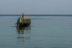 Βάρκα Longtail στοκ εικόνες