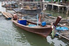 Βάρκα Longtail Στοκ Φωτογραφίες