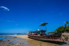 Βάρκα Longtail Στοκ φωτογραφία με δικαίωμα ελεύθερης χρήσης