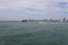 Βάρκα Pattaya Στοκ εικόνα με δικαίωμα ελεύθερης χρήσης