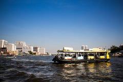 Βάρκα Praya Chao Στοκ Εικόνες