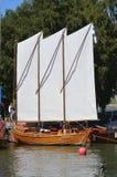 Βάρκα Saling Στοκ εικόνες με δικαίωμα ελεύθερης χρήσης