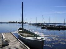 βάρκα whaler στοκ εικόνες