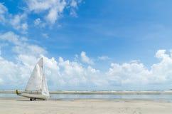 Βάρκα Windsurf Στοκ Εικόνες