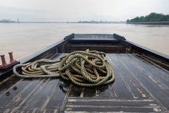 βάρκα woodern Στοκ Εικόνα