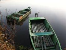 βάρκες αγκυλών που αλι&epsi Στοκ εικόνα με δικαίωμα ελεύθερης χρήσης