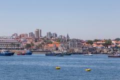 Βάρκες αλιείας στο ναυτικό ακτών Στοκ φωτογραφίες με δικαίωμα ελεύθερης χρήσης