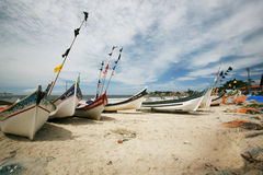 βάρκες Βραζιλιάνος παρα&la Στοκ Εικόνα
