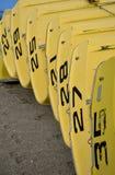 Βάρκες για τη μίσθωση Στοκ Εικόνες