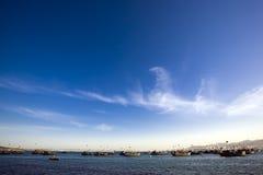 βάρκες διαφορετικές πο&lam στοκ φωτογραφία