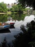 βάρκες δύο Στοκ εικόνες με δικαίωμα ελεύθερης χρήσης