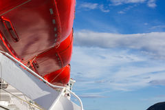 Βάρκες ζωής Στοκ φωτογραφίες με δικαίωμα ελεύθερης χρήσης