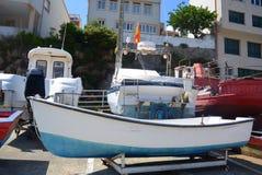 βάρκες ζωηρόχρωμες Στοκ εικόνες με δικαίωμα ελεύθερης χρήσης