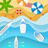 Βάρκες και γιοτ ελεύθερη απεικόνιση δικαιώματος