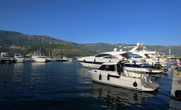 Βάρκες και γιοτ Στοκ εικόνα με δικαίωμα ελεύθερης χρήσης