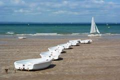 Βάρκες κατάρτισης πανιών Στοκ εικόνα με δικαίωμα ελεύθερης χρήσης