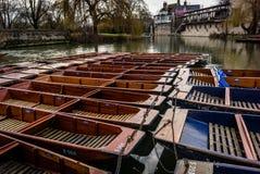 Βάρκες κλωτσιάς εκκέντρων ποταμών Στοκ φωτογραφία με δικαίωμα ελεύθερης χρήσης