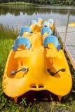 Βάρκες κουπιών Στοκ Φωτογραφία
