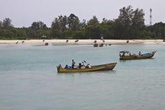 βάρκες λεμβούχων παραδο στοκ φωτογραφίες