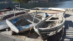 βάρκες Μαυροβούνιο Στοκ Εικόνες