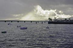 βάρκες μόνες Στοκ φωτογραφία με δικαίωμα ελεύθερης χρήσης